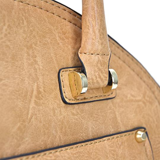 Other The Treasured Hippie Designer Inspired Vintage Affordable Bags Large Handbags Satchel in Taupe Image 5