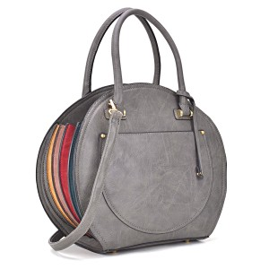 Other The Treasured Hippie Designer Inspired Vintage Affordable Bags Large Handbags Satchel in Gray