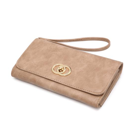 Other The Treasured Hippie Designer Inspired Vintage Affordable Wallets Classic Wristlet in Camel Image 4