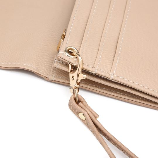 Other The Treasured Hippie Designer Inspired Vintage Affordable Wallets Classic Wristlet in Camel Image 7