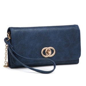 Other The Treasured Hippie Designer Inspired Vintage Affordable Wallets Classic Wristlet in Royal Blue