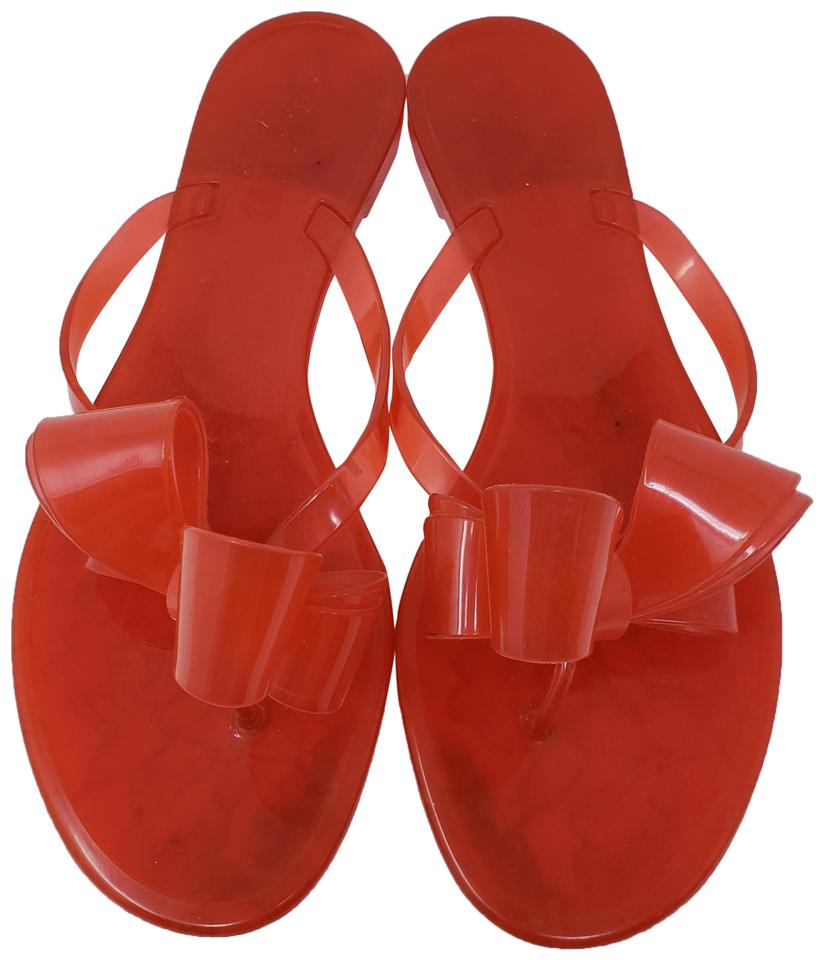 d9ac5d6fe386 Valentino Red Jelly Sandals Size EU 40 (Approx. US 10) Regular (M