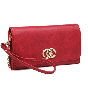 Other The Treasured Hippie Designer Inspired Vintage Affordable Wallets Classic Wristlet in Red