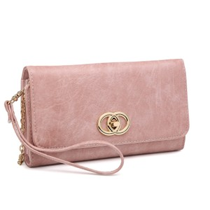 Other The Treasured Hippie Designer Inspired Vintage Affordable Wallets Classic Wristlet in Pink