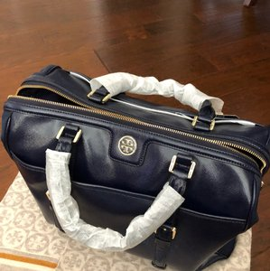 Tory Burch Cape Blue Midday Satchel Tote Tote in Cape Blue