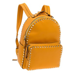 Valentino Leather Rockstud Suede Backpack