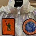Louis Vuitton Runway Transparent Windbreaker Patches Iridescent Jacket Image 5