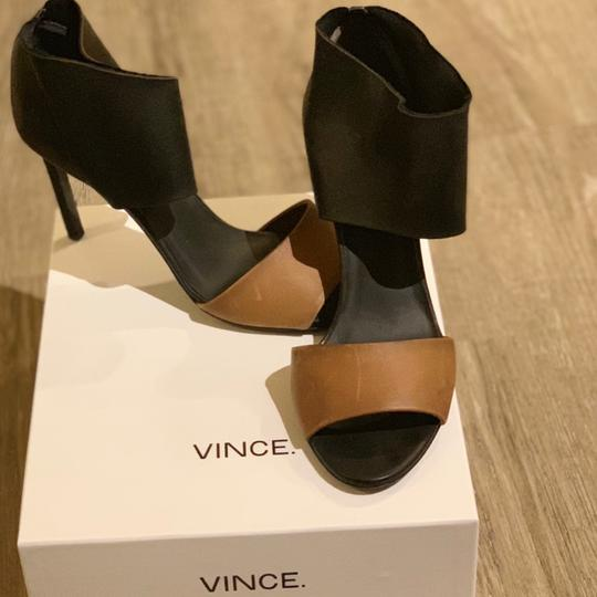 Vince Black and Tan Boots Image 2