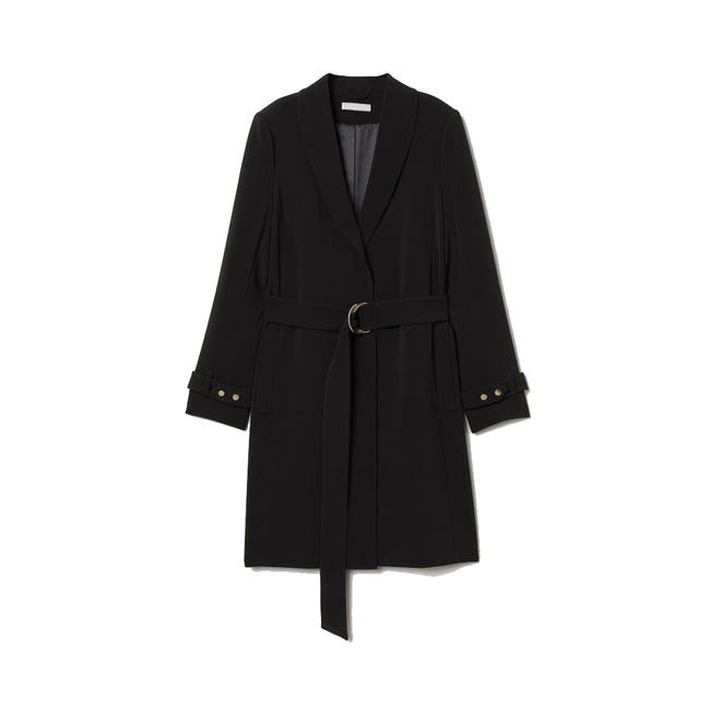 H&M Belted Long Trench Coat Image 0