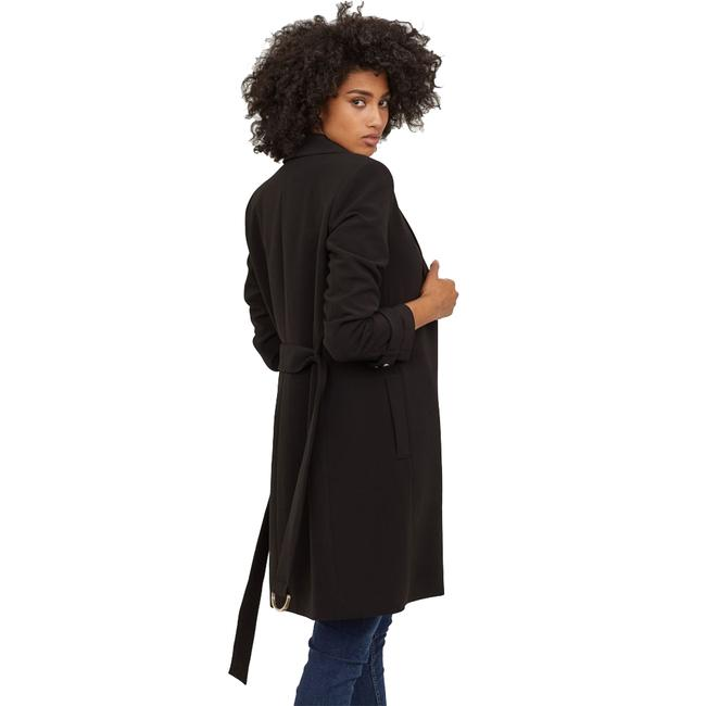 H&M Belted Long Trench Coat Image 1