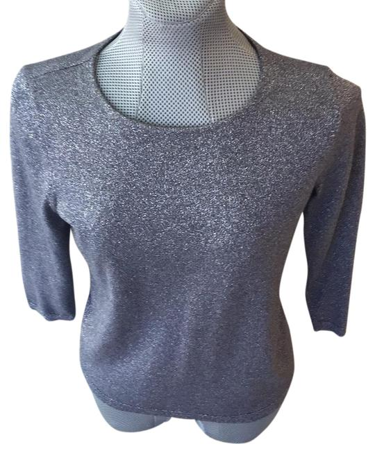 Preload https://img-static.tradesy.com/item/24223982/talbots-gray-and-silver-sweater-0-1-650-650.jpg