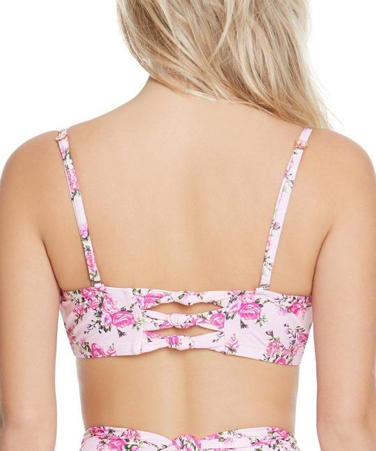 Betsey Johnson Lovers to Lovers Molded Push-Up Bra & Hipsters Bikini Image 1
