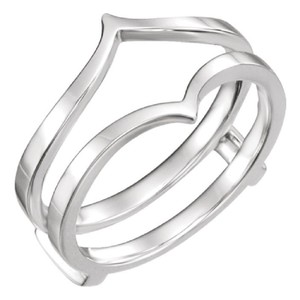 Apples of Gold 14K WHITE GOLD RING GUARD