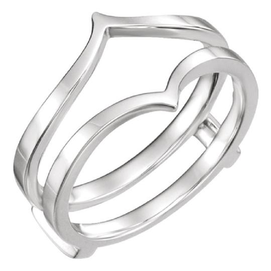 Apples of Gold 14K WHITE GOLD RING GUARD Image 1