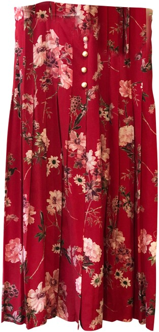 Preload https://img-static.tradesy.com/item/24224126/the-kooples-red-silk-moulin-rouge-floral-print-with-pearl-pleated-skirt-size-12-l-32-33-0-1-650-650.jpg