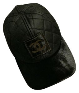 Chanel Chanel pony hair Quilted hat
