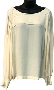 Escada Silk Top Beige
