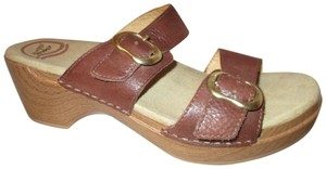 Dansko Leather Clogs 001 brown Sandals