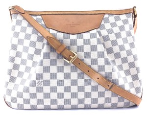 Louis Vuitton Siracusa Mm Canvas Cross Body Bag