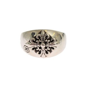 Silver D19148-3 Crest 925 Sterling (Eu 63 / Us 11) Men's Jewelry/Accessory