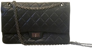 Chanel Calfskin Chain Aged Vintage Shoulder Bag