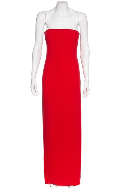 Preload https://img-static.tradesy.com/item/24225523/oscar-de-la-renta-red-strapless-silk-evening-gown-long-cocktail-dress-size-4-s-0-0-650-650.jpg