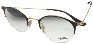 Ray-Ban New RAY-BAN Eyeglasses RB 3578-V 2905 48-22 145 Shiny Brown & Gold Fra