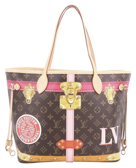 Preload https://img-static.tradesy.com/item/24225605/louis-vuitton-neverfull-nm-limited-edition-summer-trunks-monogram-mm-brown-coated-canvas-tote-0-1-540-540.jpg