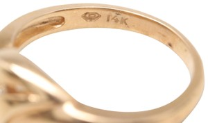 Others 14K Yellow Gold Diamond Ring
