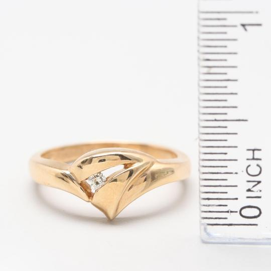 Others 14K Yellow Gold Diamond Ring Image 3