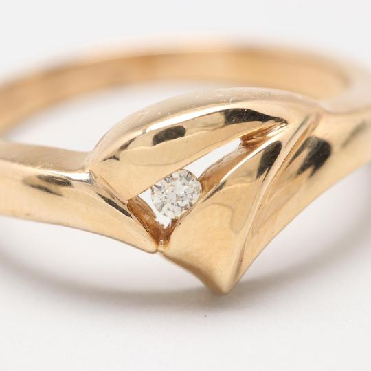 Others 14K Yellow Gold Diamond Ring Image 4