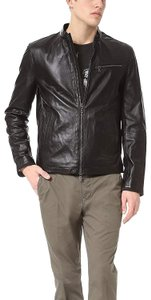 John Varvatos Moto Men's Leather Motorcycle Jacket