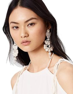 Tory Burch NWT TORY BURCH BEADED CHANDELIER EARRINGS