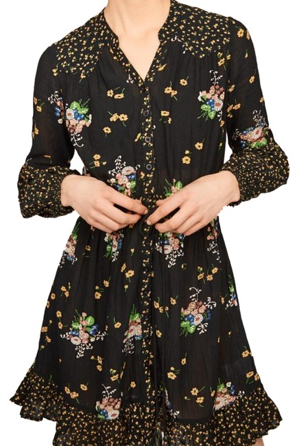 Preload https://img-static.tradesy.com/item/24225816/bytimo-black-and-multi-floral-bohemian-mini-blossom-mid-length-night-out-dress-size-2-xs-0-1-650-650.jpg