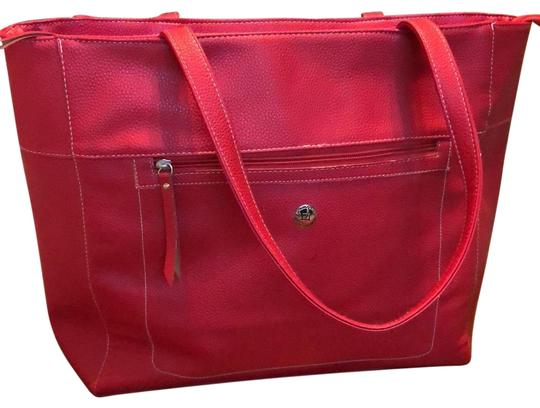 Preload https://img-static.tradesy.com/item/24225845/stone-mountain-accessories-roomy-red-leather-tote-0-1-540-540.jpg