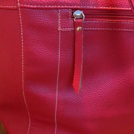 Stone Mountain Accessories Tote in Red Image 1