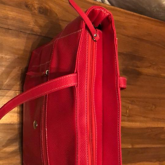 Stone Mountain Accessories Tote in Red Image 2