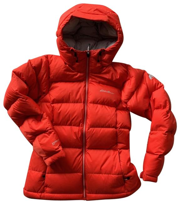Preload https://img-static.tradesy.com/item/24226084/eddie-bauer-red-down-insulated-hooded-jacket-activewear-size-2-xs-0-1-650-650.jpg