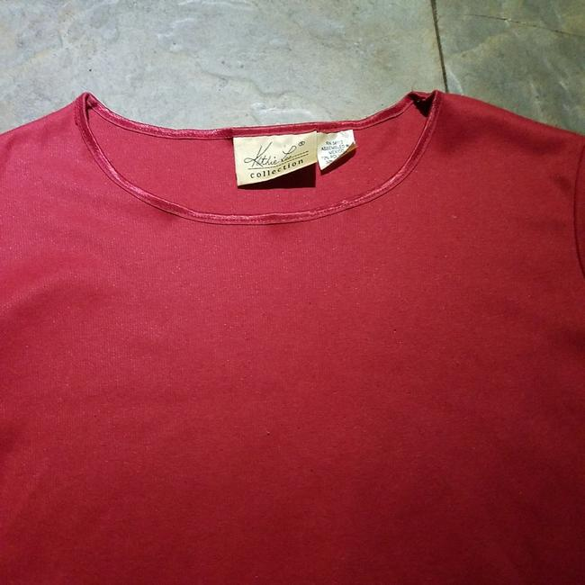 Kathie Lee Collection T Shirt Pink Image 3