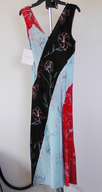 Diane von Furstenberg short dress Blue Red Black on Tradesy Image 3