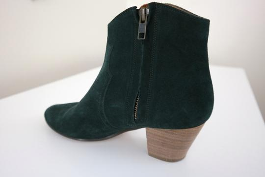 toile Isabel Marant Suede Cowboy Faded Black Boots Image 2