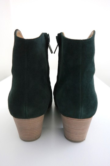 toile Isabel Marant Suede Cowboy Faded Black Boots Image 3