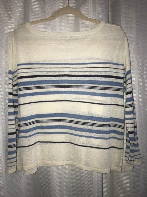 Joie Striped Linen Sweater Image 4