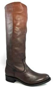 Dolce Vita Knee-high Leather Pull-on Western Brown Gradient Boots