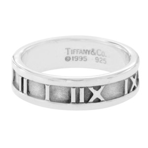 Tiffany & Co. Tiffany & Co. 925 Sterling Silver Atlas Roman Band Ring
