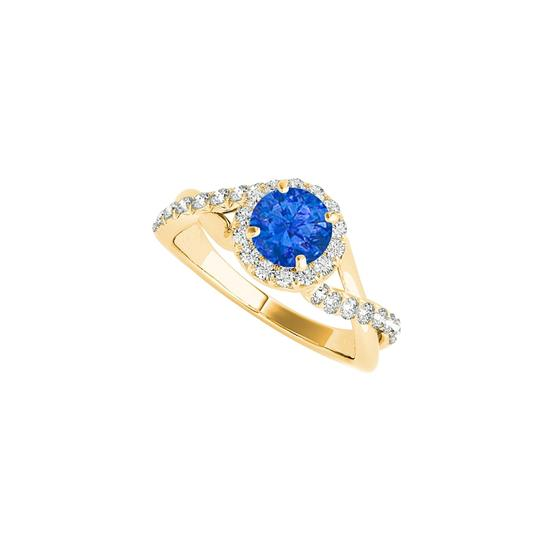 Preload https://img-static.tradesy.com/item/24226919/blue-sapphire-cz-criss-cross-in-18k-yellow-gold-vermeil-ring-0-0-540-540.jpg