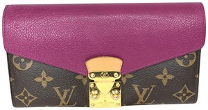 Louis Vuitton Louis Vuitton PF Pallas Monogram and Grape Wallet