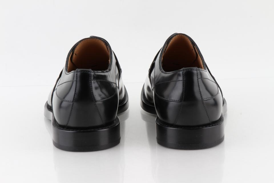 e709ddb4ff Fendi Black Oxford Leather Slip-ons Shoes 13% off retail