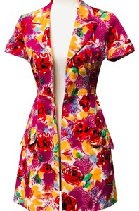 Chanel short dress Floral on Tradesy