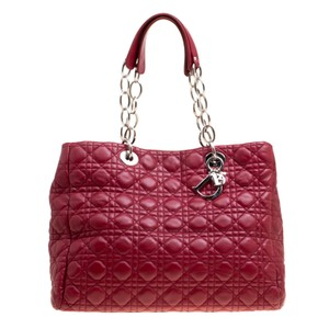 Dior Tote in Burgundy